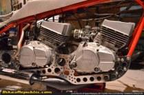 Wujud Yamaha RXZ Double Mesin