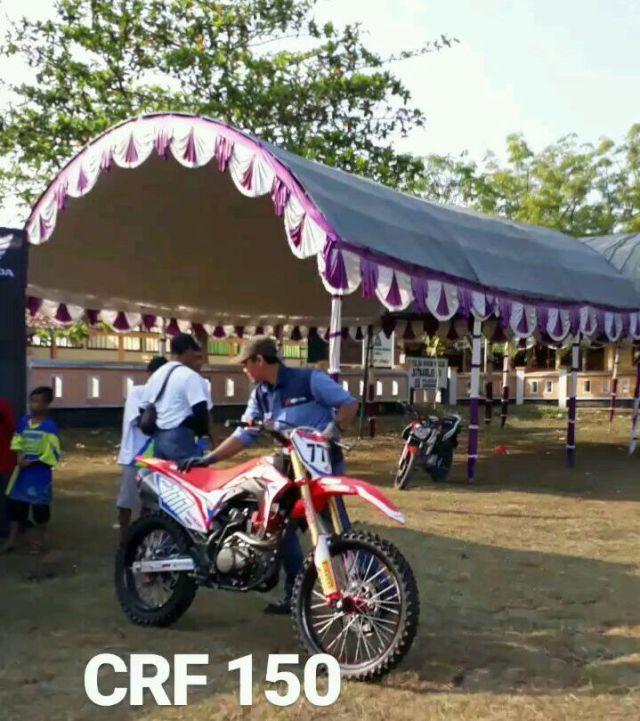 CRF150 diam-diam sudah diperkenalkan di event off road