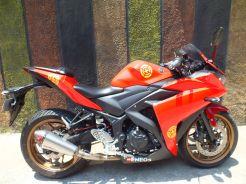 Yamaha MT-25 milik Vlogger ini Diubah Jadi R25