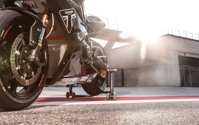 Triumph Melakukan Uji Coba Mesin untuk Moto2