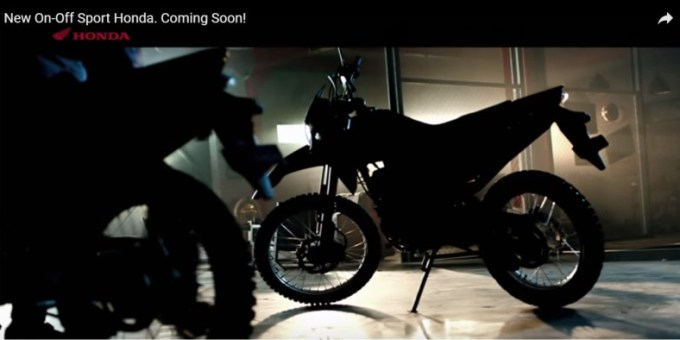 Teaser Motor Off Sport Baru Dari Honda