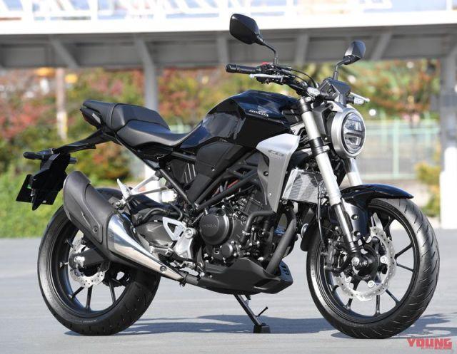 New Honda CB250R 2018