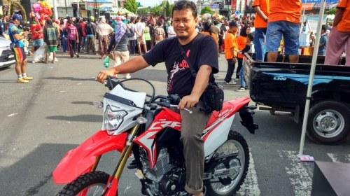 Honda CRF150L Sudah Sampai Di Boyolali