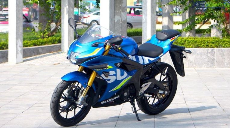 Modifikasi Suzuki GSX-R150, Pasang Upside Down Tambah Kekar
