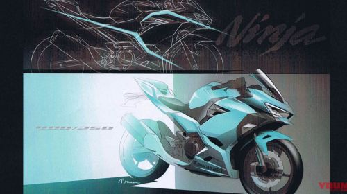 Pengembangan Desain Kawasaki Ninja 250 Baru