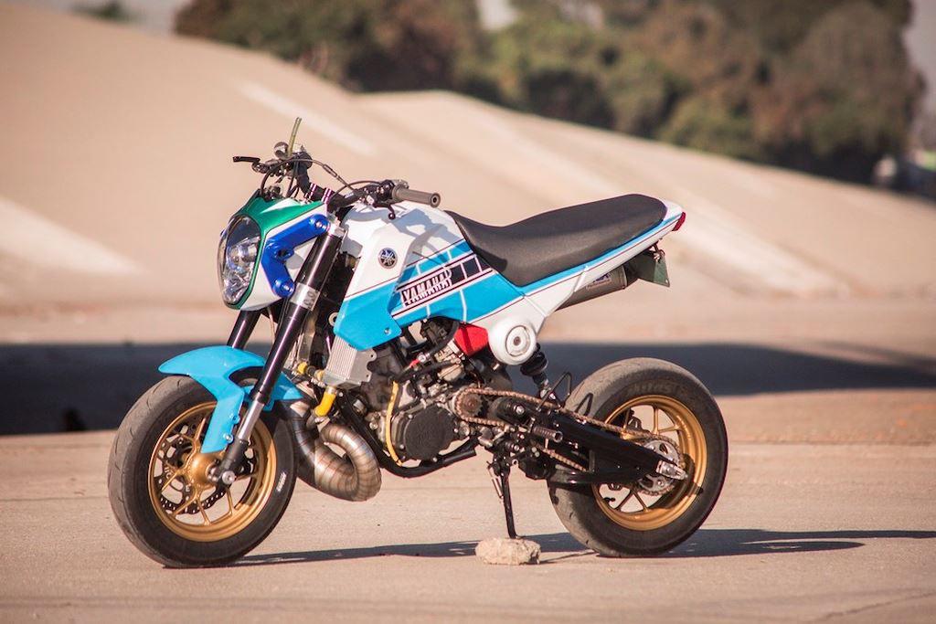 Honda Grom Bermesin Yamaha YZ250