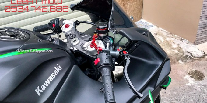 Modifikasi Z800 Pakai Fairing Ninja H2R
