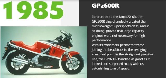 Model Motor Kawasaki Tahun 80