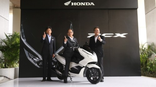 Tipe All New Honda PCX150