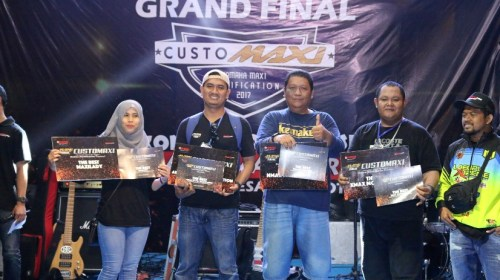 Finalis CustoMAXI Nasional Dari Medan