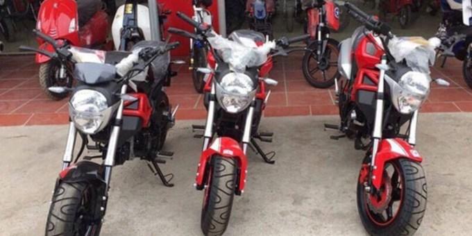 Ducati Monster Supercopy 110cc