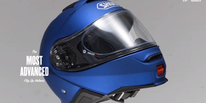 Detail Dan Varian Warna Helm SHOEI Neotech II