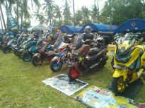 Gathering Nasional ke-3 Yamaha Nmax Club Indonesia (YNCI) di Lombok Nusa Tenggara Barat (1)