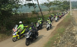 Gathering Nasional Honda PCX Club Indonesia 2018