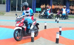 YAHM Bangun Safety Riding Lab Astra Honda Wujud Dukungan Peran Duta Keselamatan Berkendara