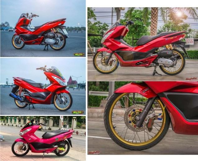 Modifikasi Honda PCX 150 Jari Jari-rtb-24