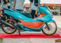Modifikasi Honda PCX 150 Jari Jari