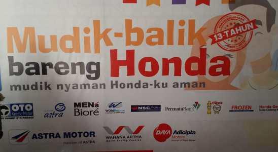 Balik Bareng Honda 2018