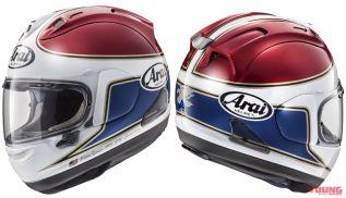 Helm Arai RX-7X Spencer