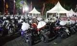 Sepeda Motor Peserta Mudik Bareng Honda