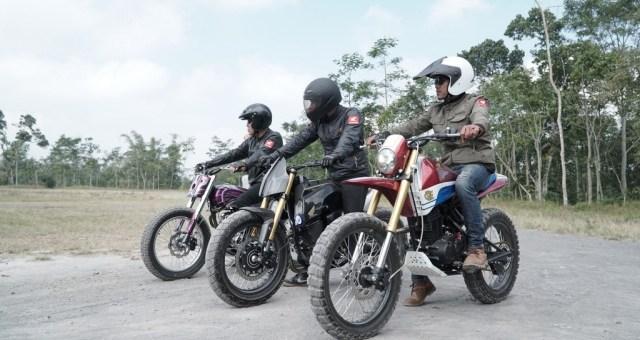 Honda CRF150L Modifikasi Hasil Honda Dream Ride