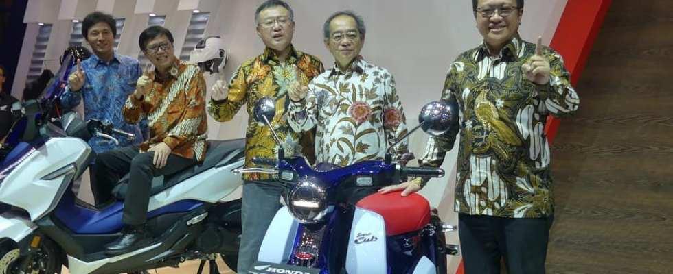 Honda Forza 250 dan Super Cub C125 Resmi Diperkenalkan