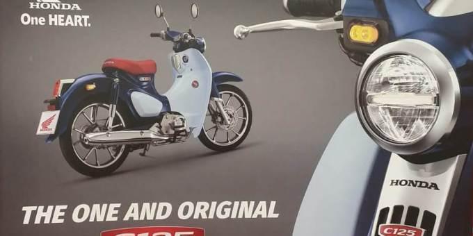 Honda Super Cub C125 Hadir Di Indonesia