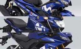 Motif Movistar Yamaha MotoGP 2018