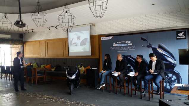 Launching All New Honda PCX Hybrid Jawa Tengah rtb.web.id 5