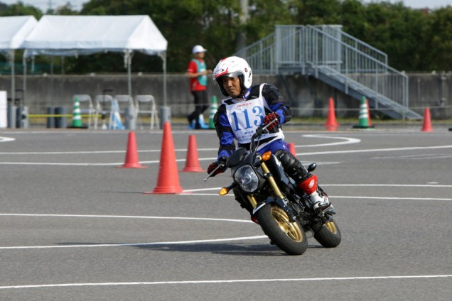 Instruktur Safety Riding Astra Honda