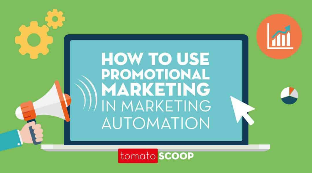 how to use promotional marketing in marketing automation