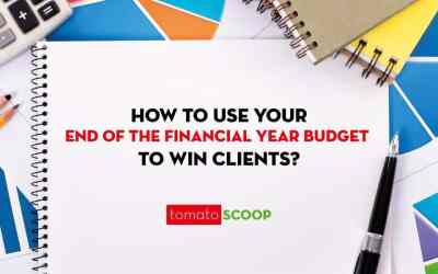 How to use your end of the financial year budget to win clients?