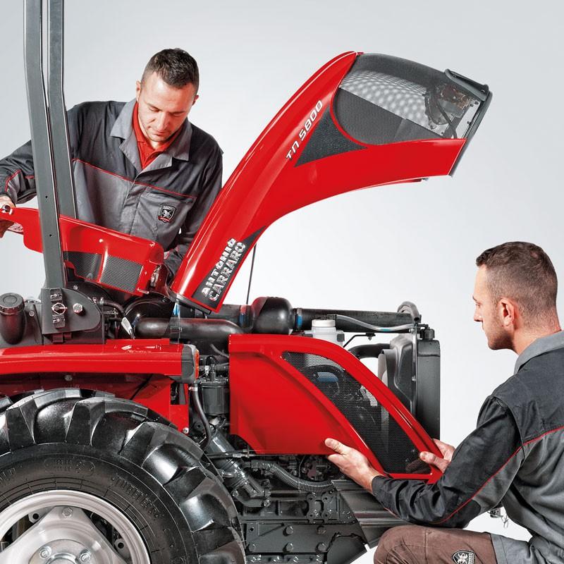 Изменения в линейке тракторов Antonio Carraro