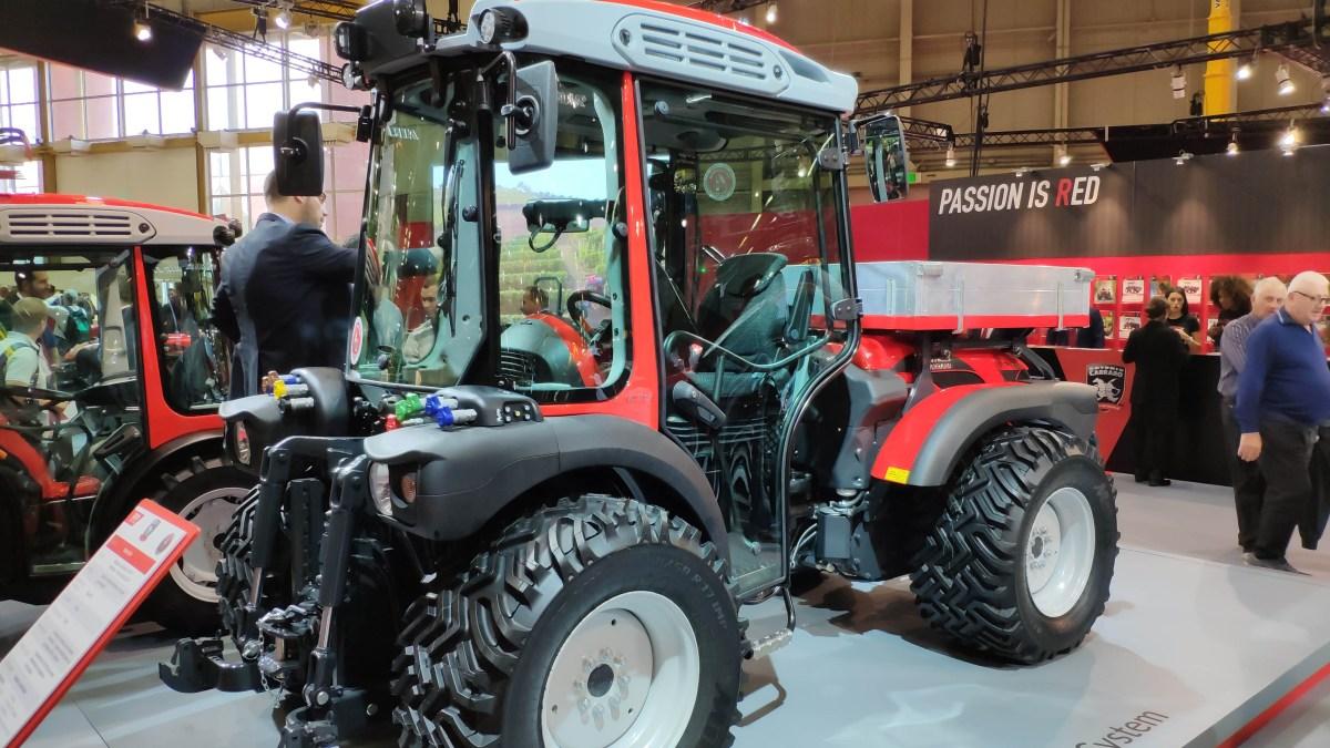 Трактор Antonio Carraro Tony City – новинка сезона 2019