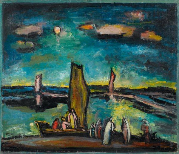 George Rouault Paintings Christ