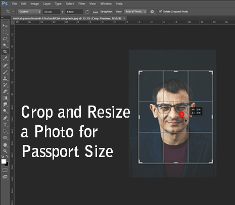 How to Crop and Resize a Photo for Passport Size- https://reducephotosize.com