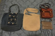 Winter handbag, summer handbag, small leather bag and clutch