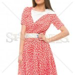 Rochie Artista Cheerfull Plot Red