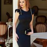Rochie StarShinerS Refinement Beauty Black