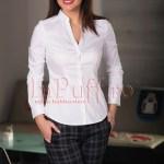 Camasa dama alba office