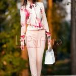 Pantaloni dama roz