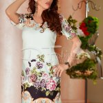 Rochie Baggy Flowers White
