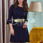 Rochie Black Golden Waist