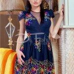 Rochie Colorful Dark Blue