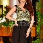 Rochie Golden Embrodery