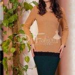 Rochie Mustard Green