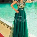 Rochie Precious Verde Lunga de Seara