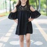 Rochie Copii Anastasia Neagra 83 Lei