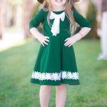 Rochie Emerald Copii 108 Lei