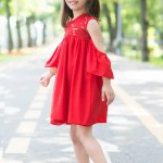 Rochie Copii Anastasia Rosie 83 Lei